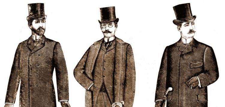 Victorian Etiqueta 14 Reglas para los hombres sobre la etiqueta en el salón 1889 - Haga clic Americana-8616