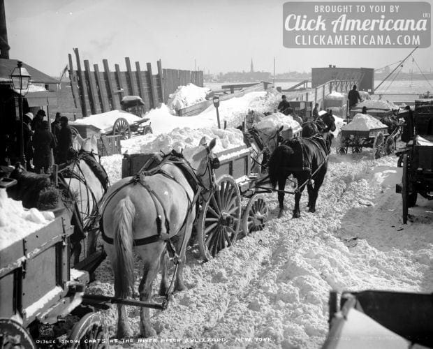 See How They Had To Remove Snow 100 Years Ago Click