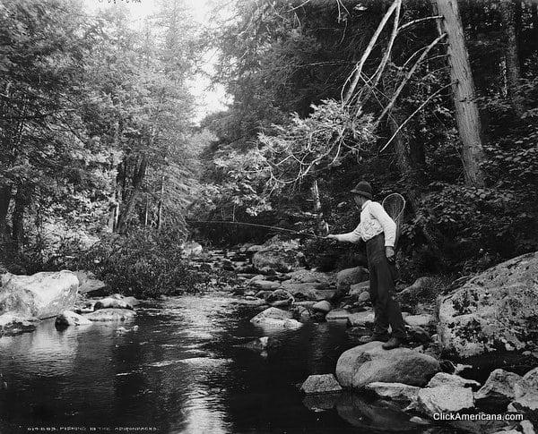 Fishing in the Adirondacks (1902)