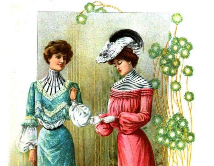 1902 The Delineator bright dresses fashion