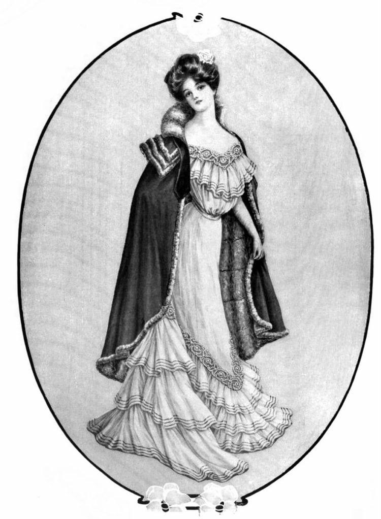 Edwardian woman hairstyles