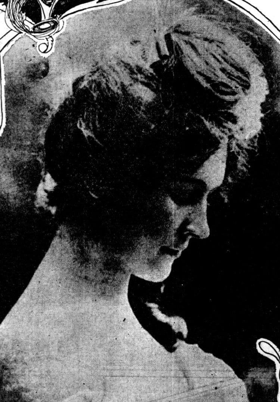 Vintage hairstyles: Victorian curls (1902)