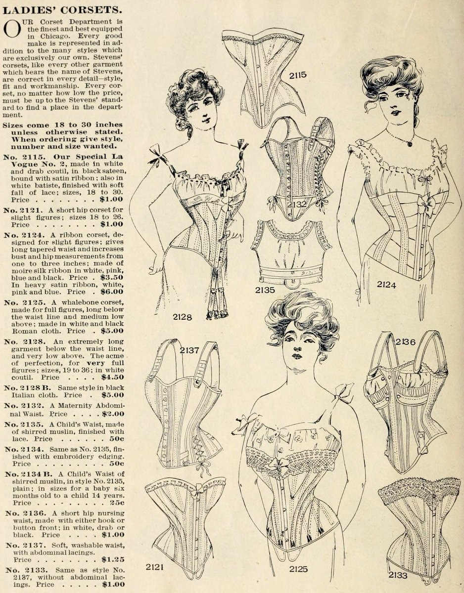 1902 corsets from Chas. A. Stevens & Bros. Chicago (2)