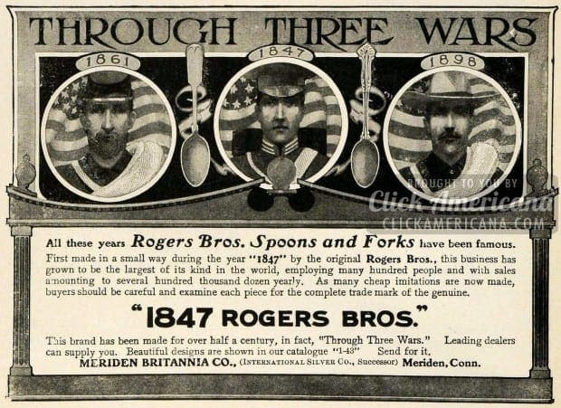 1903 Ad 1847 Rogers Bros