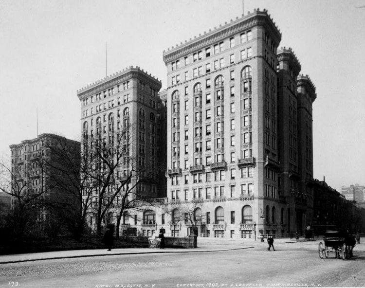 1903-Hotel Majestic, N.Y.