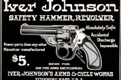 1904 Iver Johnson safety hammer revolver - Vintage guns