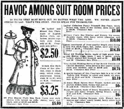 Do you buy 'because it was cheap'? (1904)