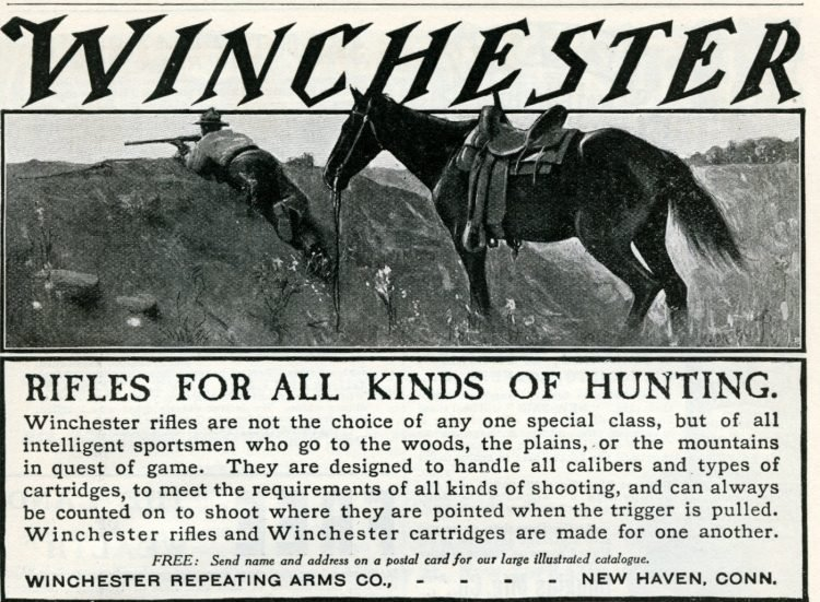 1905 - Antique Winchester rifles for all kinds of hunting