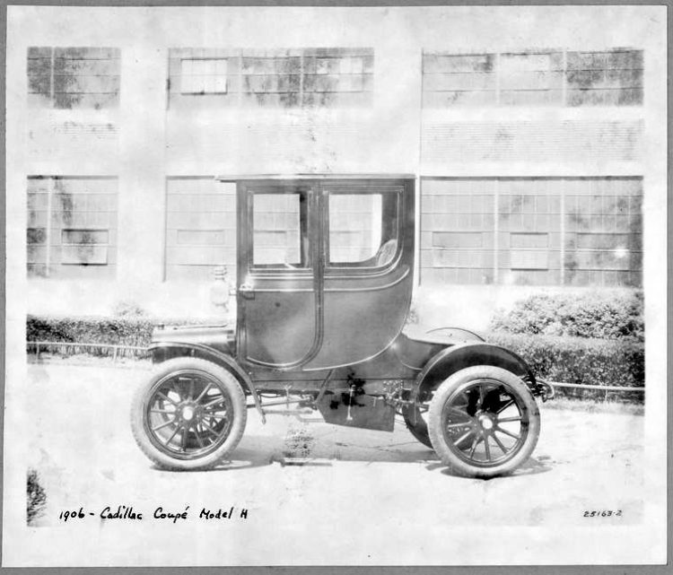1906 - Cadillac Coupe Model H