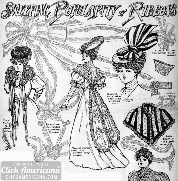 1906-Sweeping popularity of ribbons