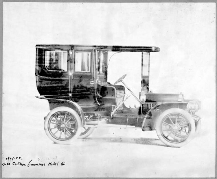 1907-08 Cadillac Limousine Model G