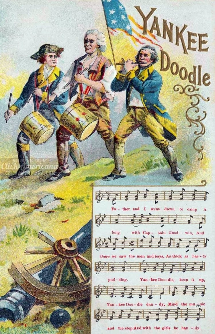 1908 Yankee Doodle 4th of July