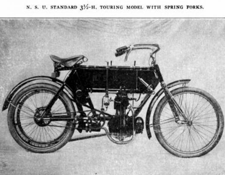 1909 NSU Motorenwerke AG motorcycles (3)