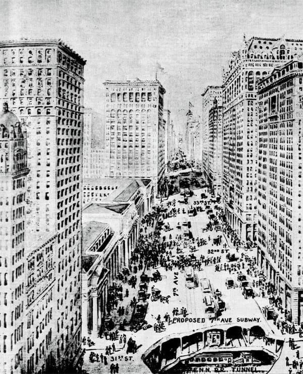 New York City of the near future (1909)