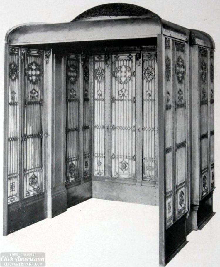 Vintage steelwork elevators (1910)