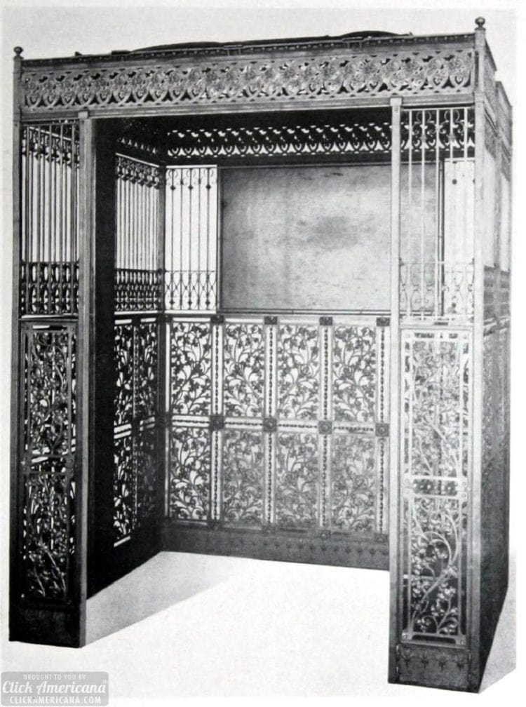 Old-time elevators