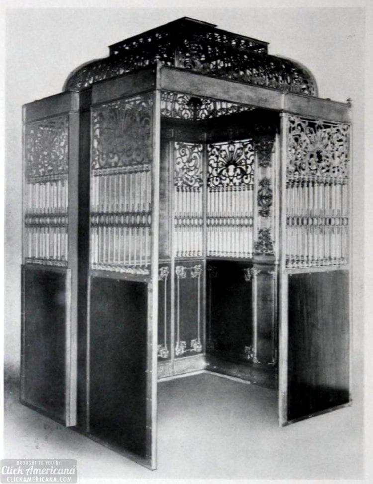Vintage metalwork elevators (1910)