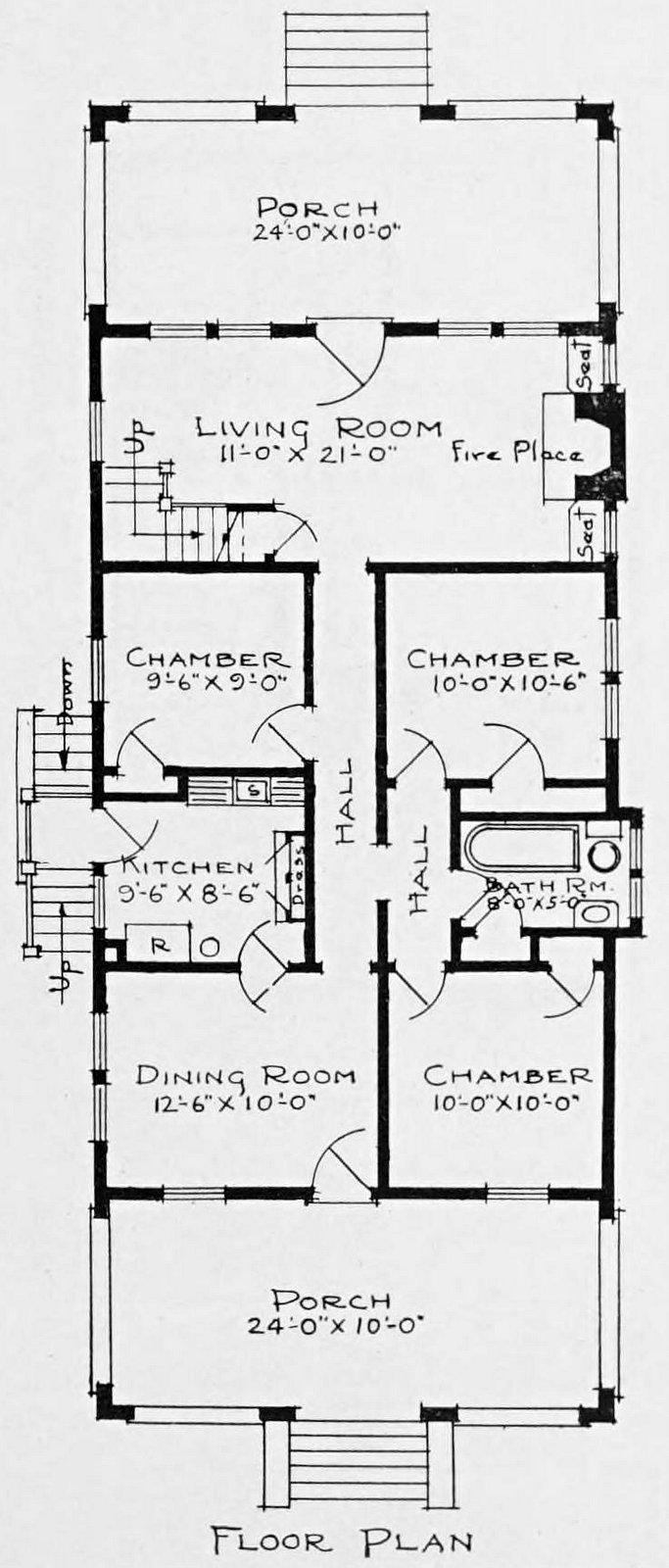 1910 cottage home plan - Number 943