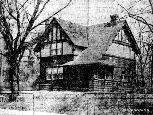 6-room bungalow home plan (1911)