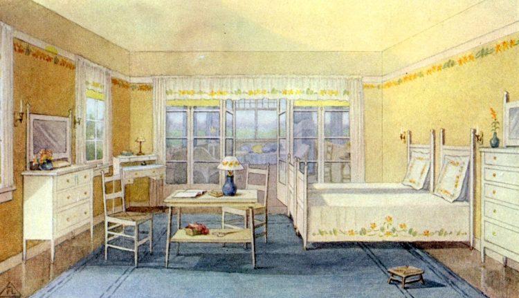1911 home sleeping porch