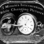 3 minutes intermission while changing pictures