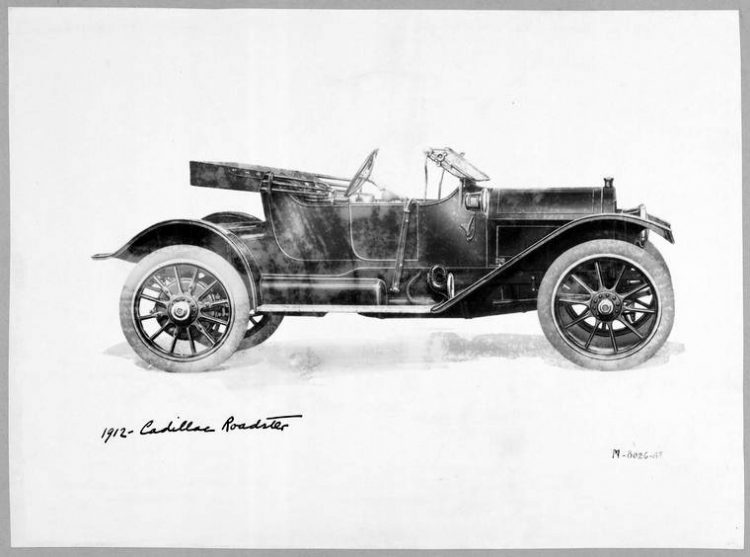 1912 - Cadillac Roadster