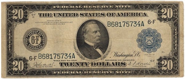 Money from 1914