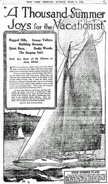Long Island: Vacation paradise (1914)