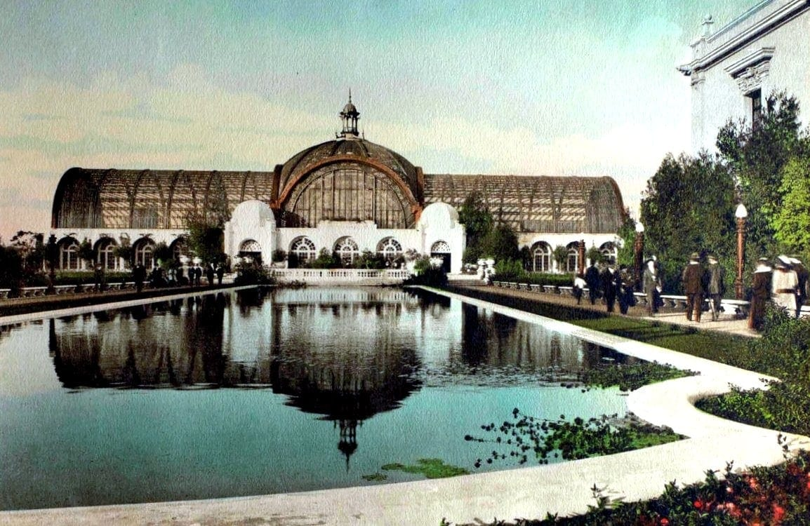 1916 Botanical Pavilion and Gardens
