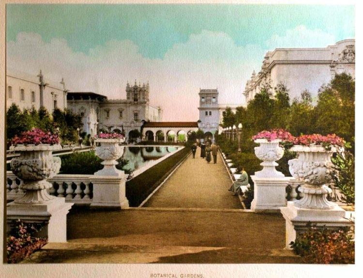 1916 Panama-California Exposition - San Diego's World's Fair - Botanical Gardens