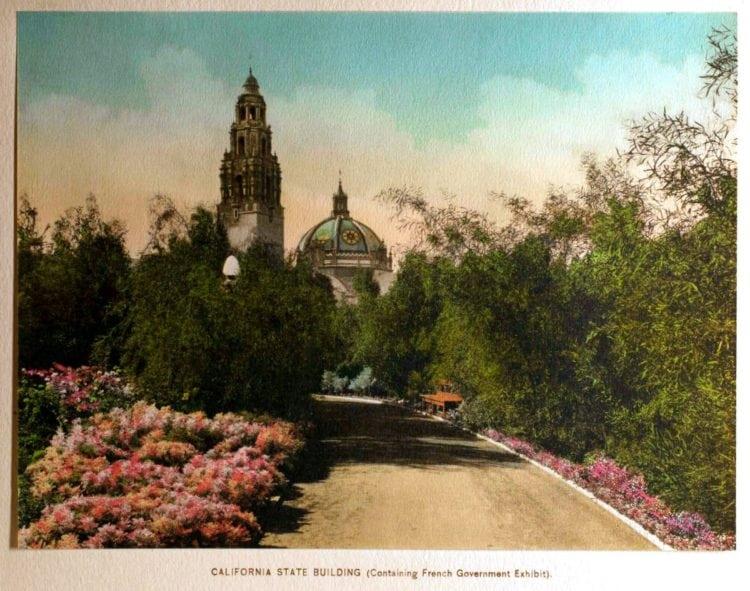 1916 Panama-California Exposition - San Diego California State Buiiding
