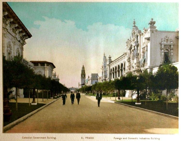 1916 Panama-California Exposition - San Diego El Prado