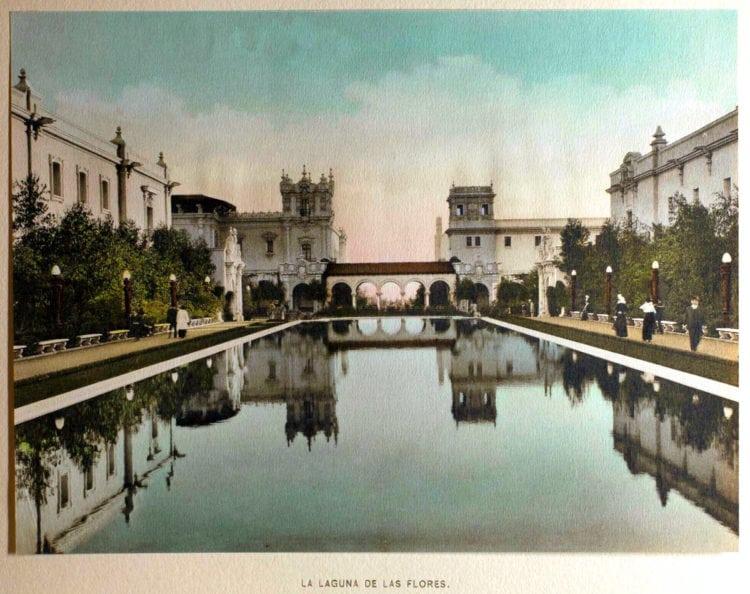 1916 Panama-California Exposition - San Diego La Laguna De Las Flores