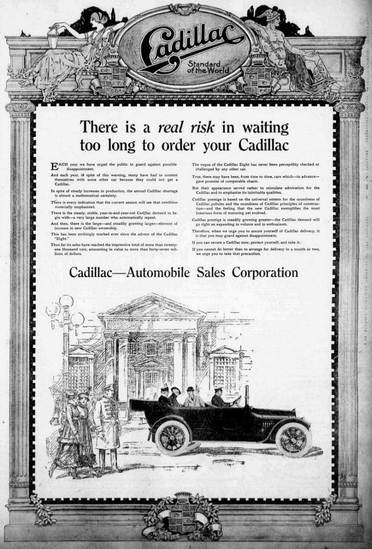 1916 - Vintage Cadillacs