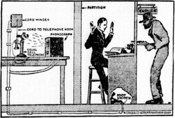 Putting a stop to bank hold-ups (1917)