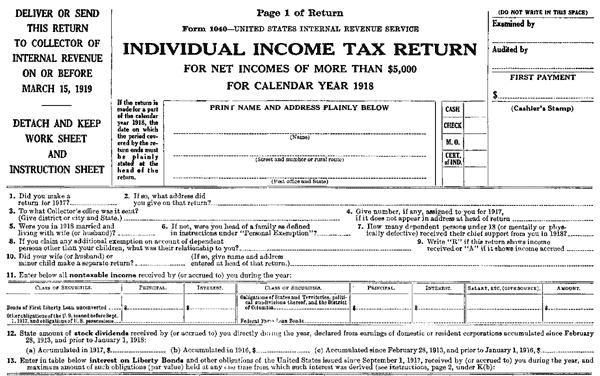 67 US incomes at million mark (1921)