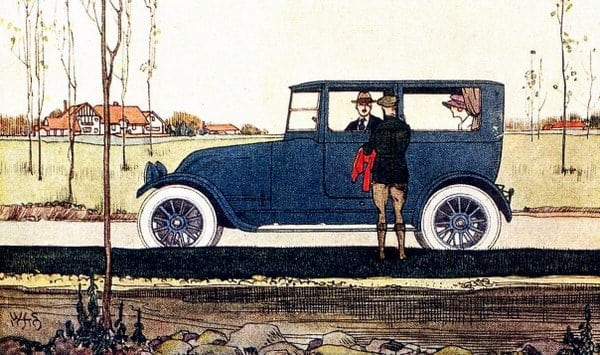 Looking toward economy in car design (1918)
