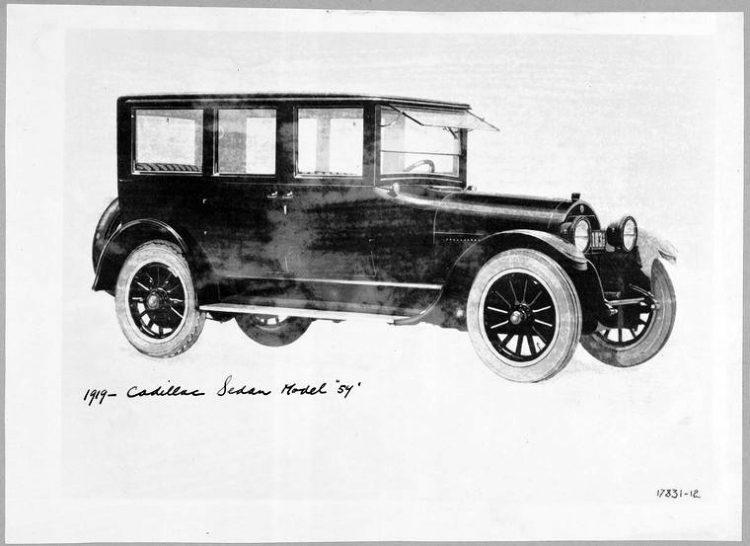 1919 - Cadillac Sedan Model 54