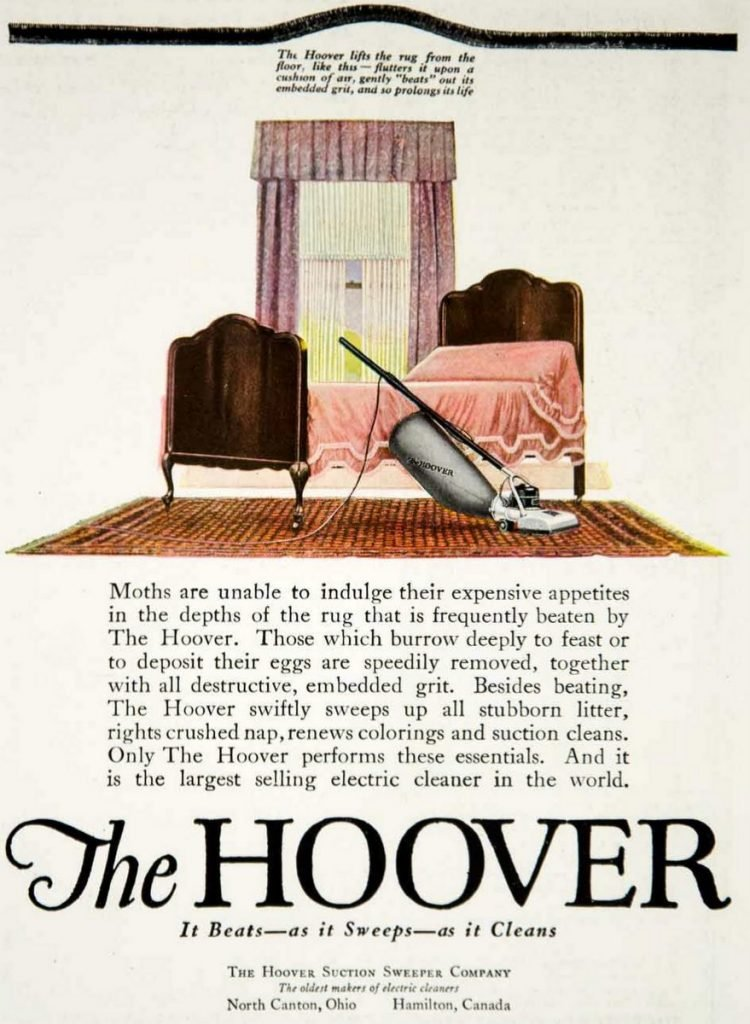 1920 Hoover Suction Sweeper vacuum