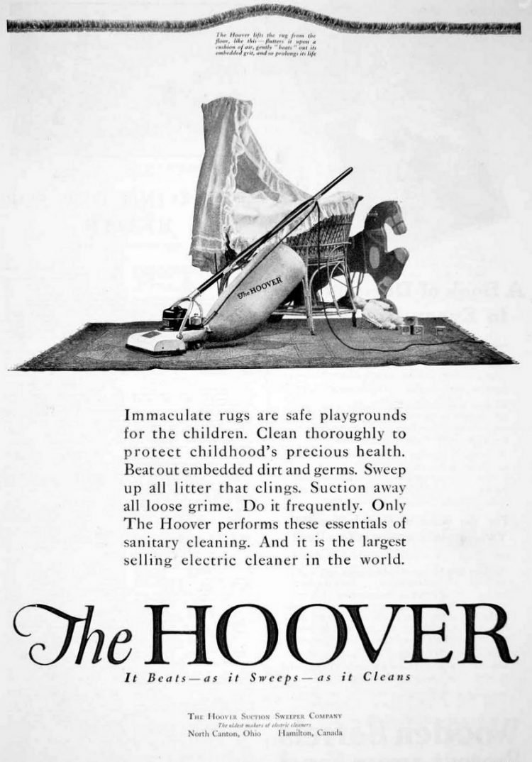 1920 Hoover Suction Sweeper vacuum 2