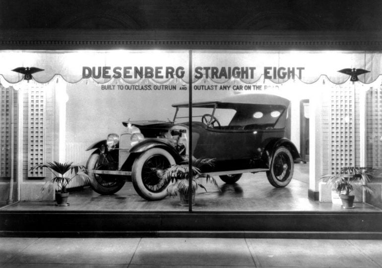 1920s-Duesenberg Straight Eight