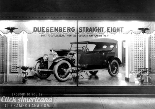 1920s car showrooms in Washington DC