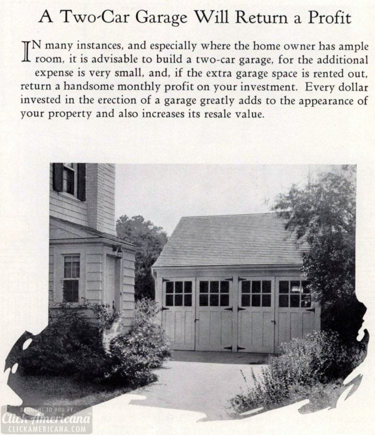 Garage from the 1920s