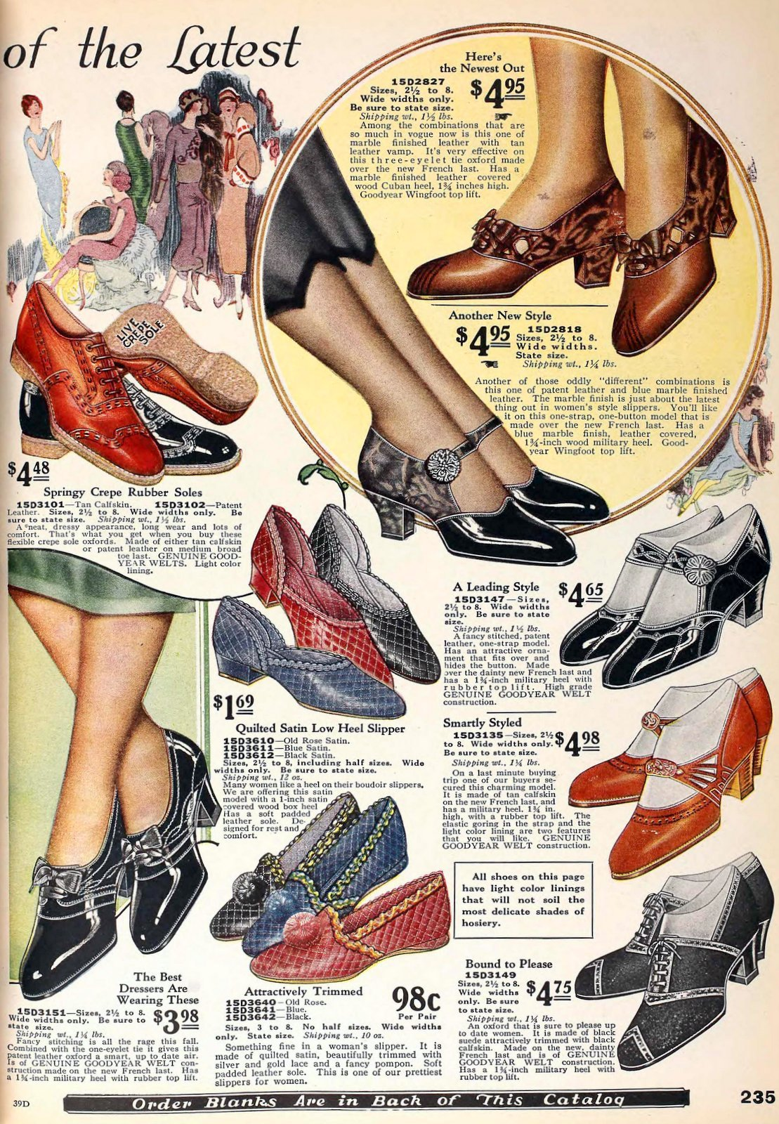 1920s shoes for women from 1925