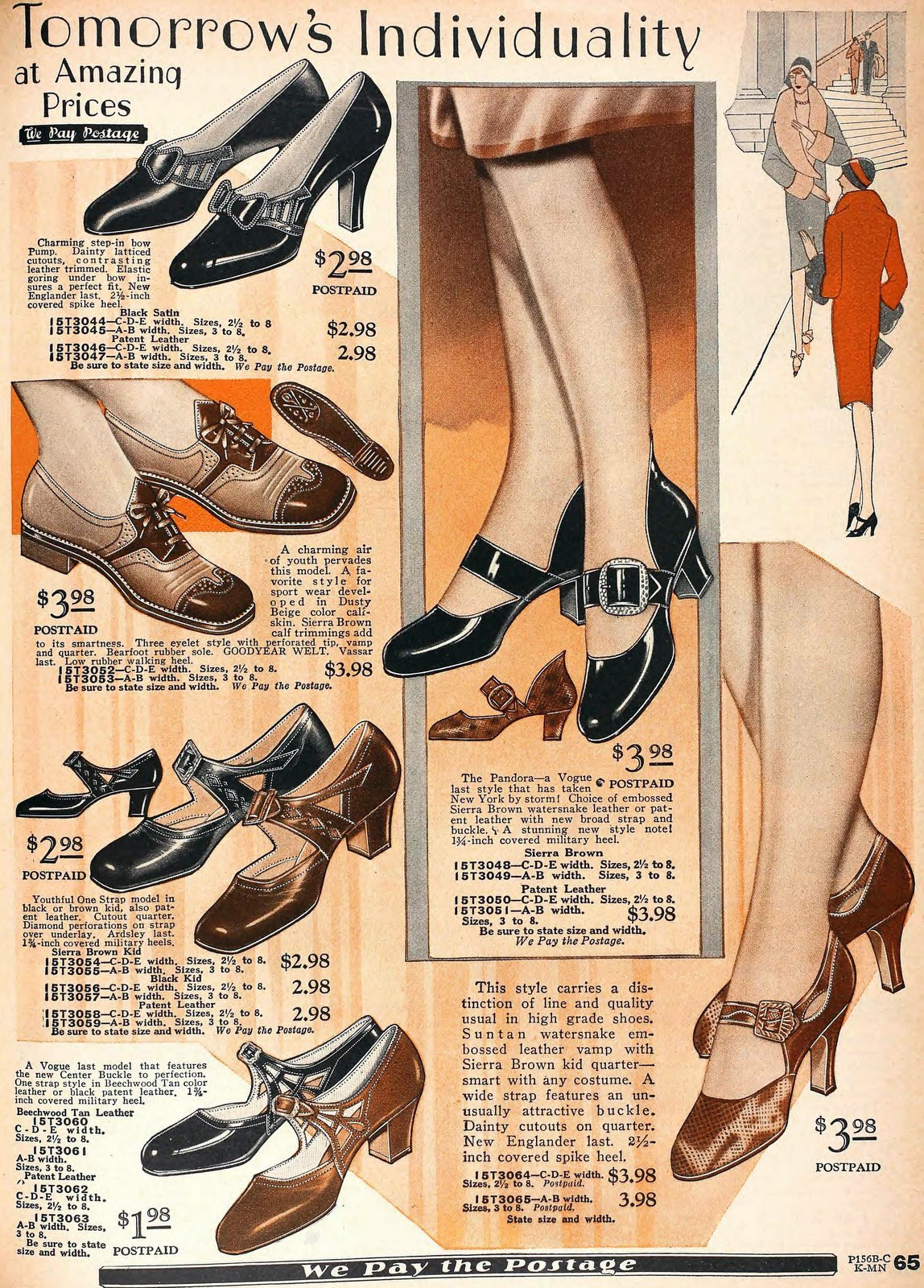 1920s shoes for women from 1929 (2)