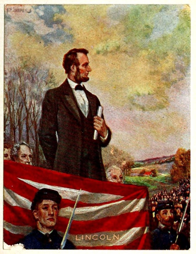 1921 Lincoln's immortal words