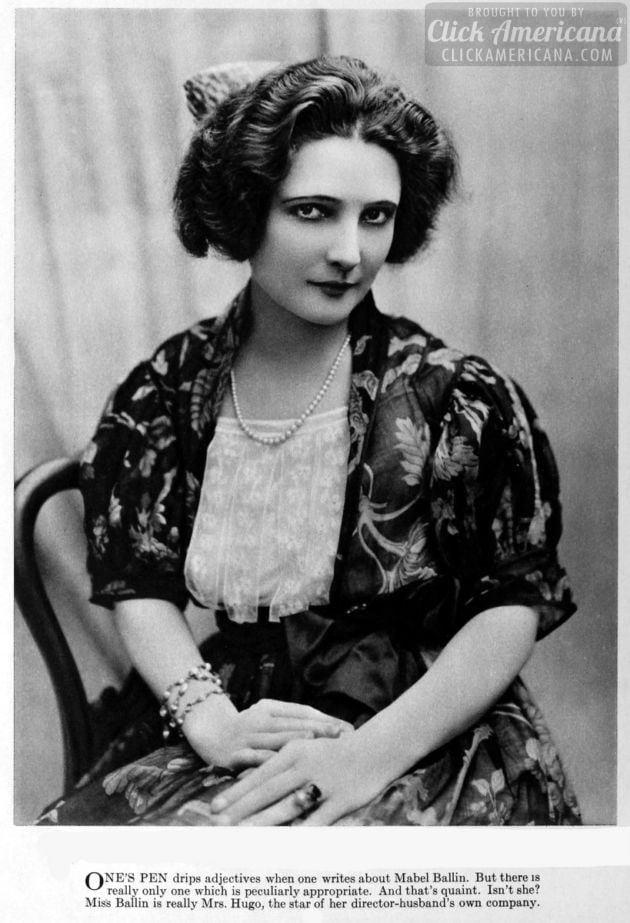 1921 - Mabel Ballin