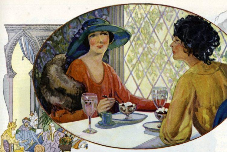 1921 tea women food