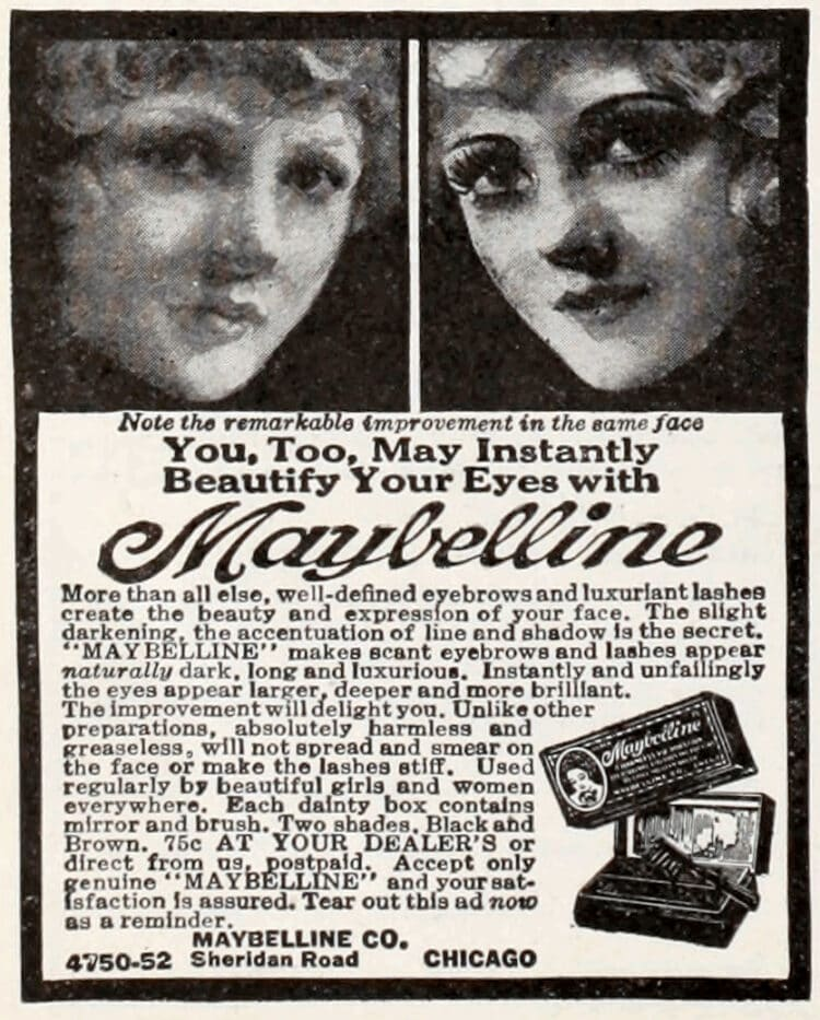 1923-Maybelline-mascara-makeup