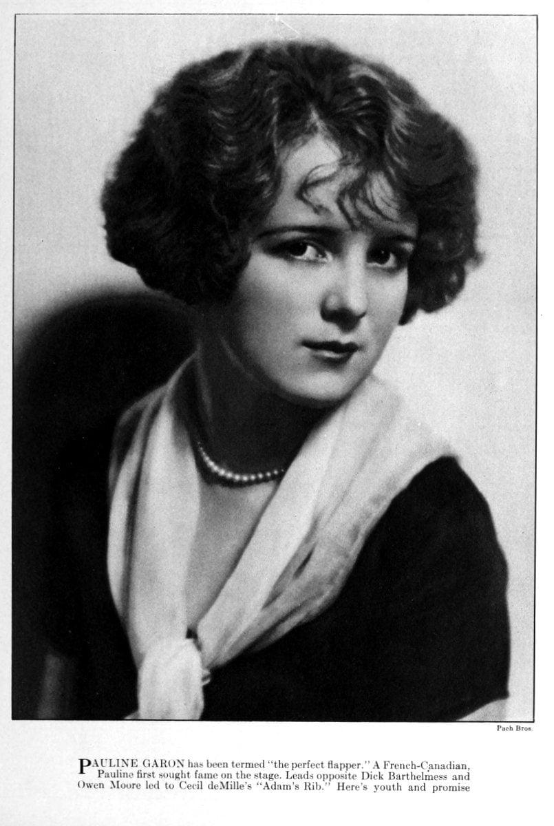 1923 Pauline Garon